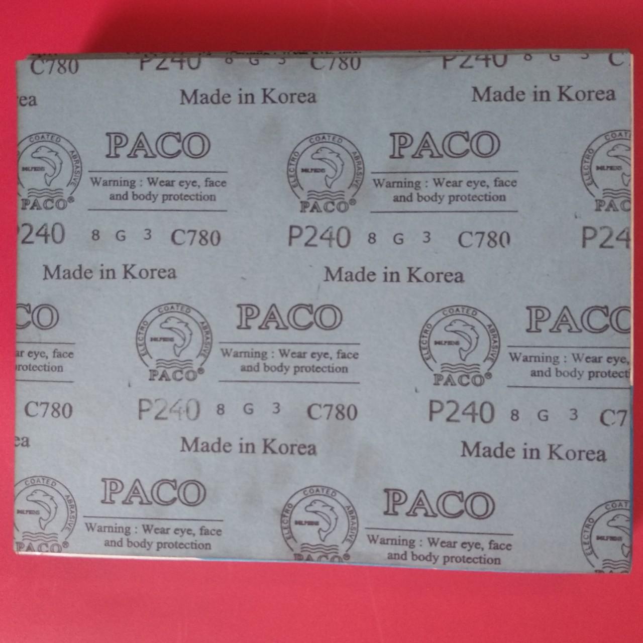 Giấy nhám khô  C780-#240 PACO