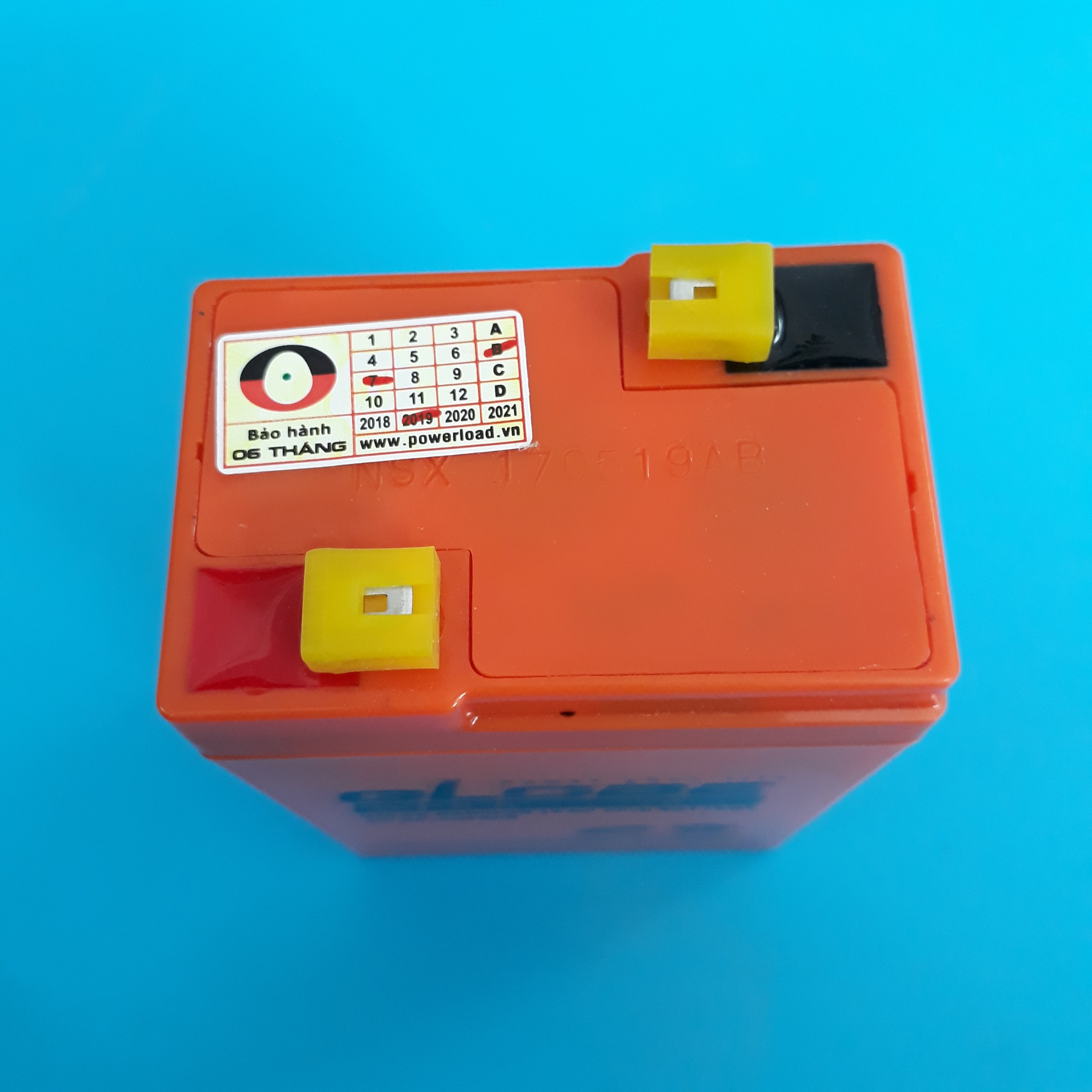 Bình ắc quy kín khí (AGM VRLA) 6V-5Ah   WP5-6 Globe
