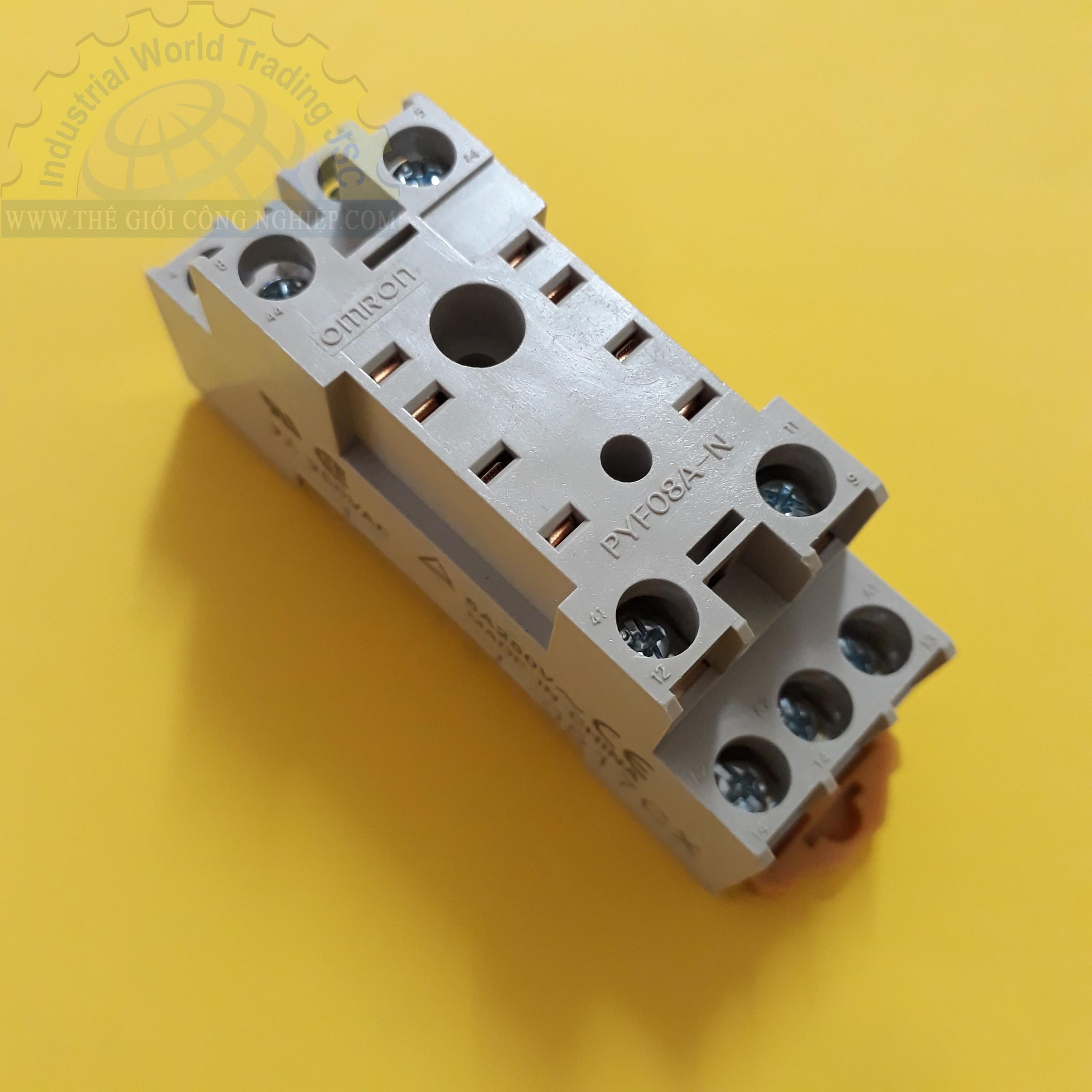 Đế cắm cho relay, Đế 8C dẹp nhỏ Đế cắm 8 chân dẹp nhỏ PYF08A-N BY OMZ PYF08A-N PYF08A N Omron