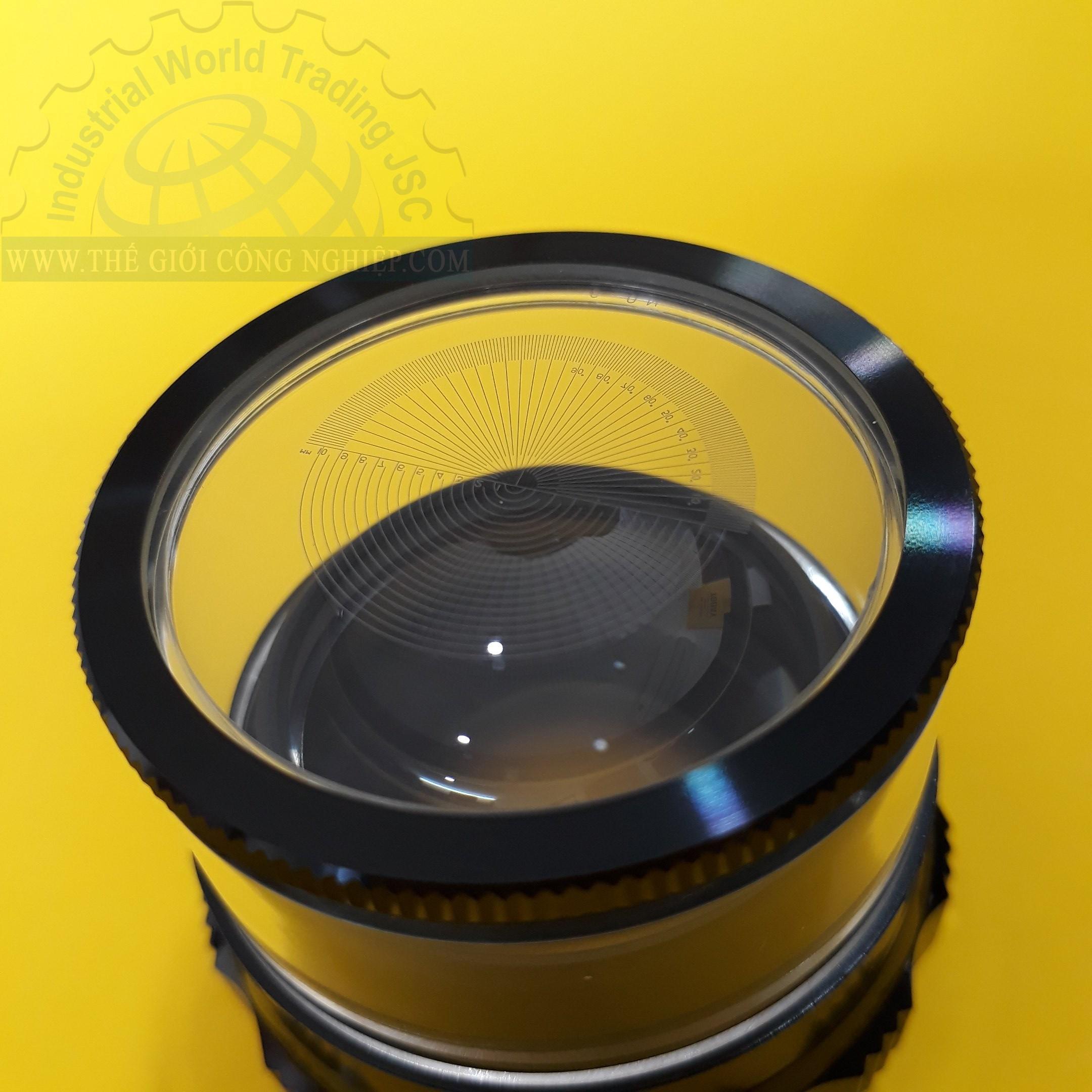 Kính lúp cầm tay có thước đo NO.9, độ phóng đại 10x  kính lúp 10x No.9, Scale Lupe No.9 1983 NO.9 PEAK