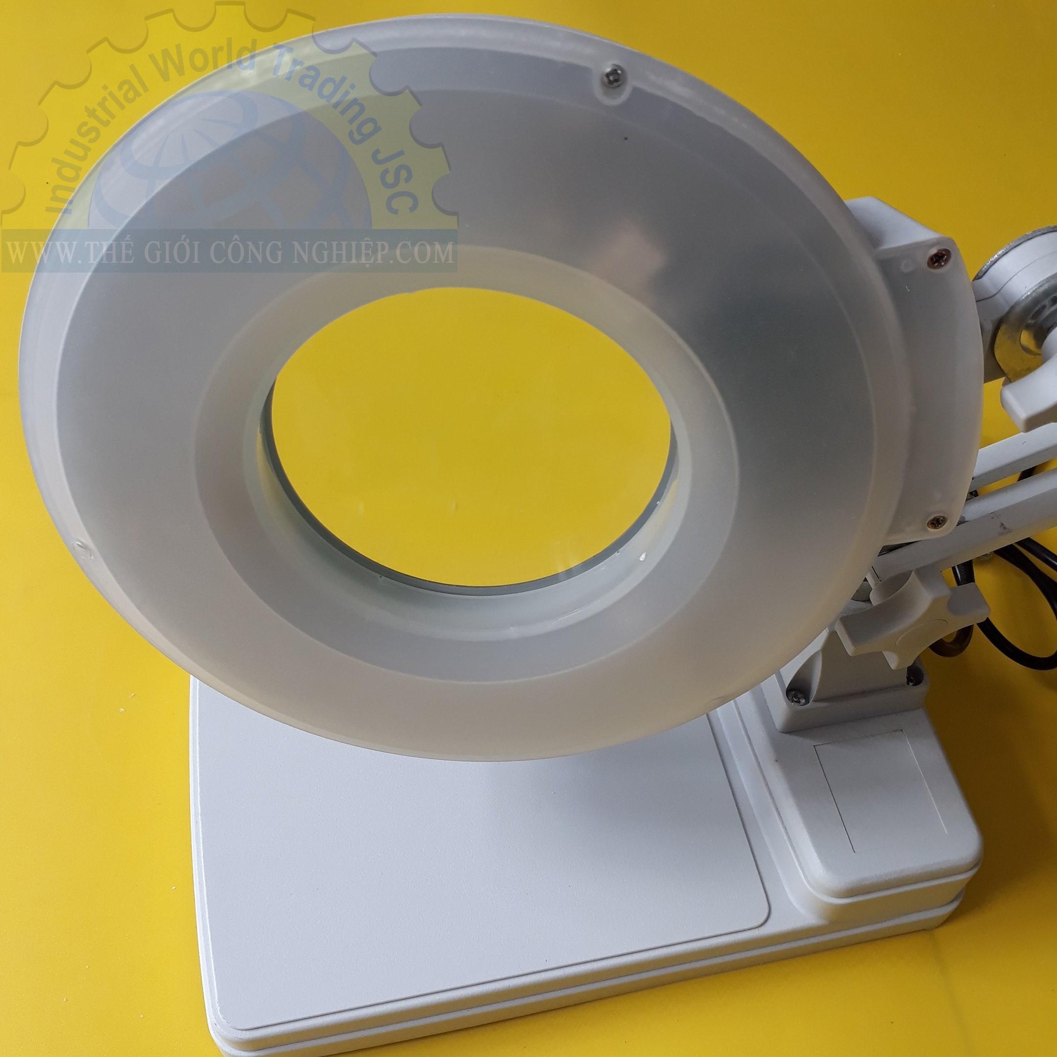 Kính lúp để bàn  đèn LED  LT-86C LED  3X China