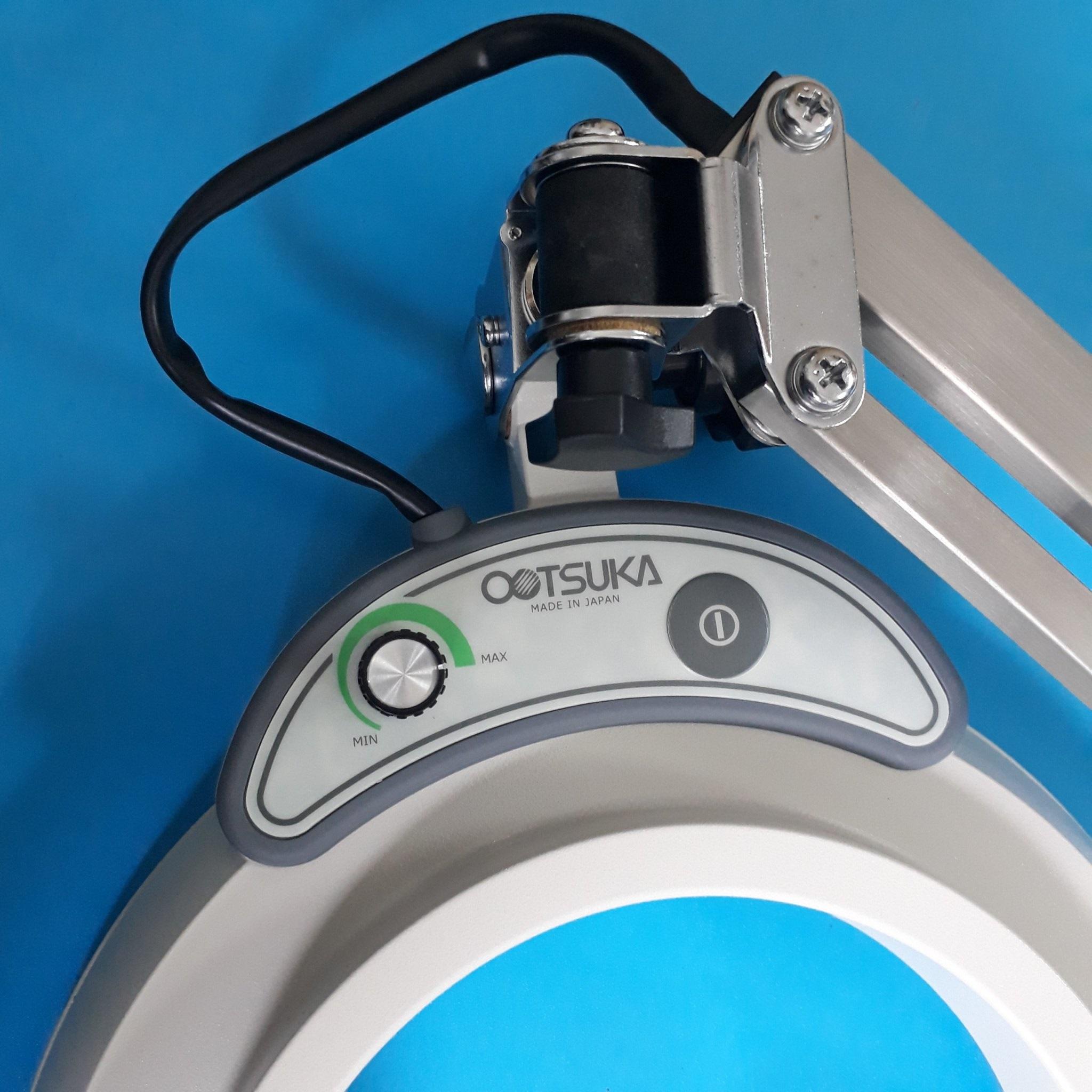 Kính lúp kẹp bàn dùng đèn Led kính lúp kẹp bàn Otsuka dùng trong phòng thí nghiệm, ENVL-F 2X ENVL-F 2X OTSUKA