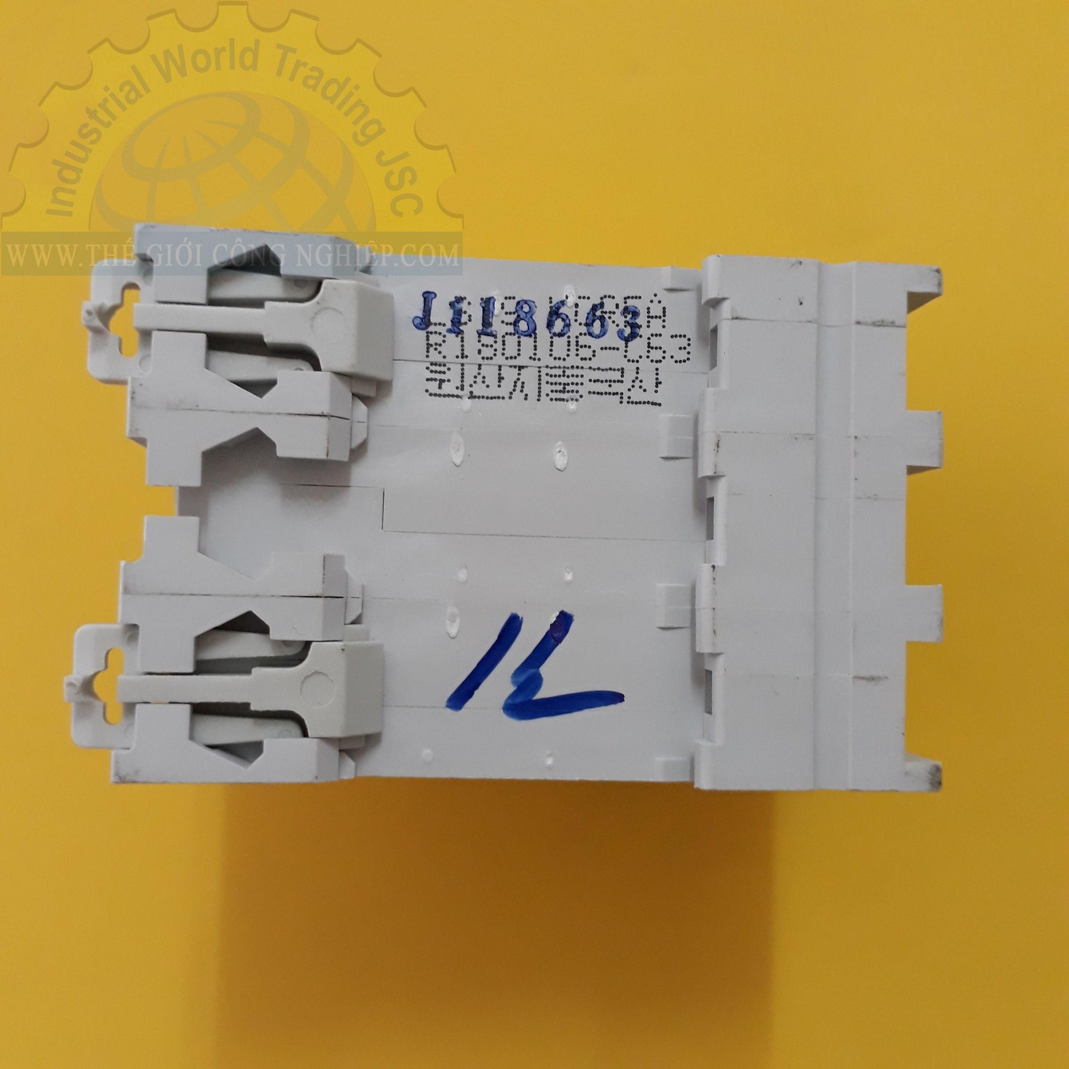 MCB ( gắn trên ray ) loại 3 cực cB tép 3 pha BKN 3P-63A LS