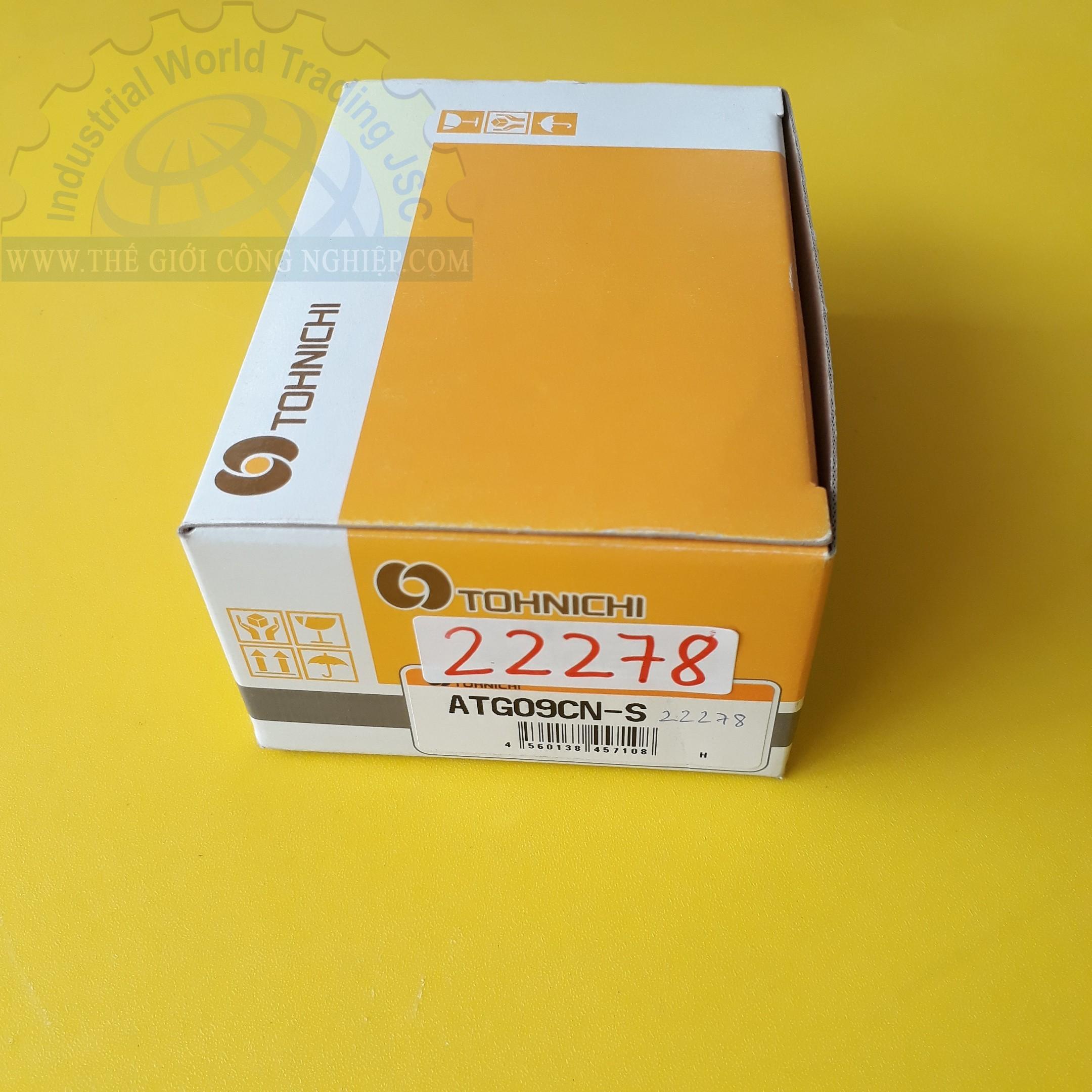 Thiết bị đo lực xoắn siết có dải đo 0.1 ~ 0.9 N.cm torque Measuring Equipment ATG09CN-S Tohnichi