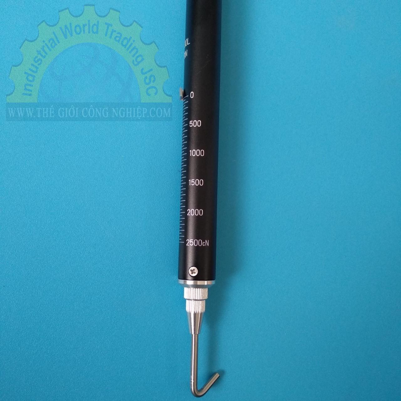 Cân lò xo, đồng hồ đo lực căng 0 – 2.5kg  TK2500CN Kanon