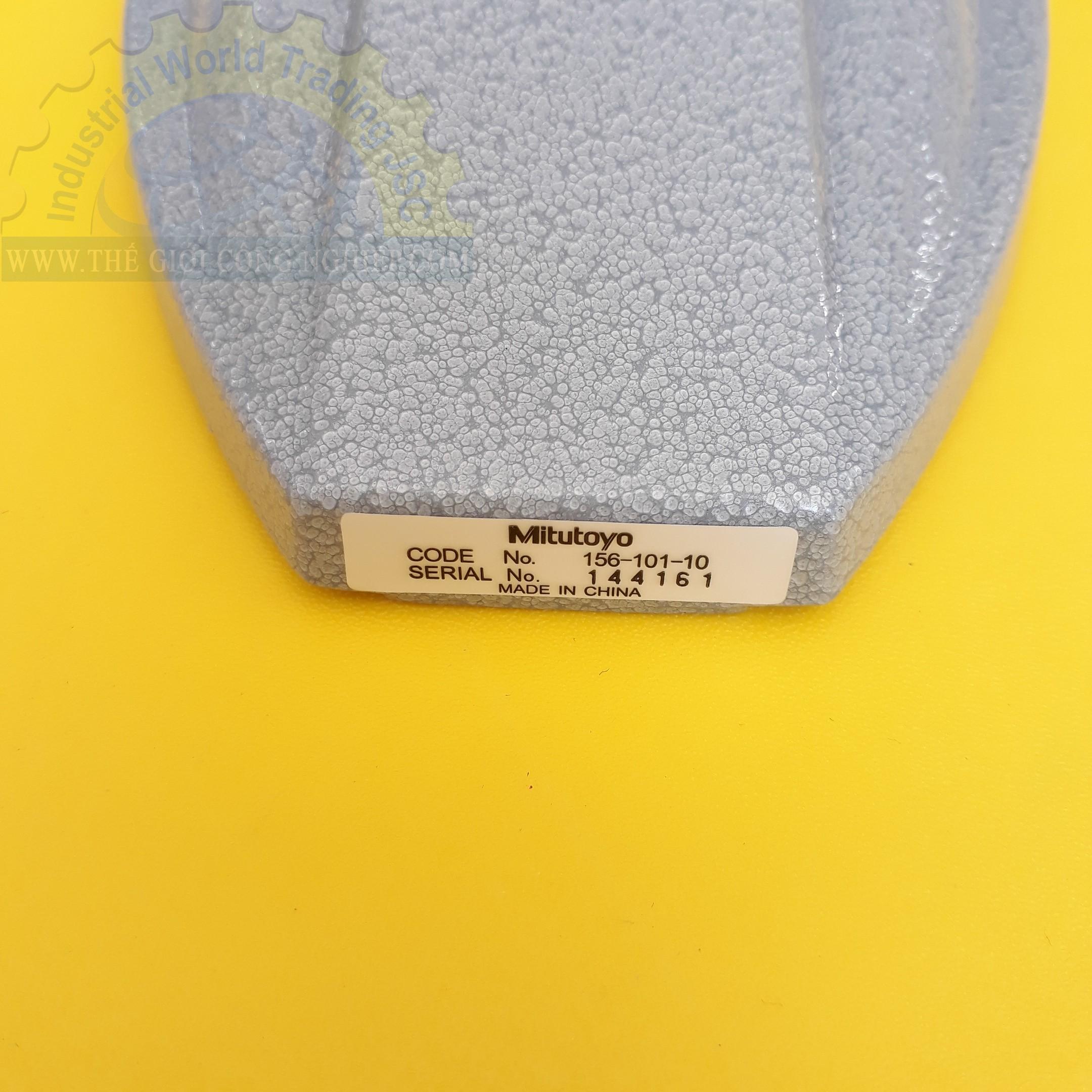 Chân đế panme 155x113.5mm  156-101-10 MITUTOYO