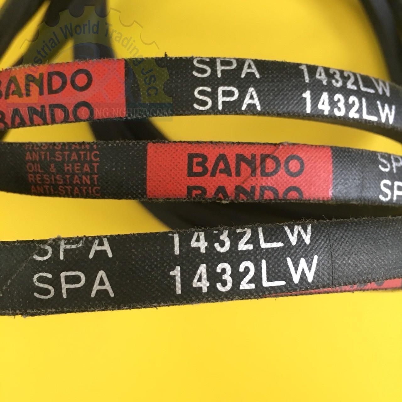 Dây curoa, dây đai  SPA1432LW Bando