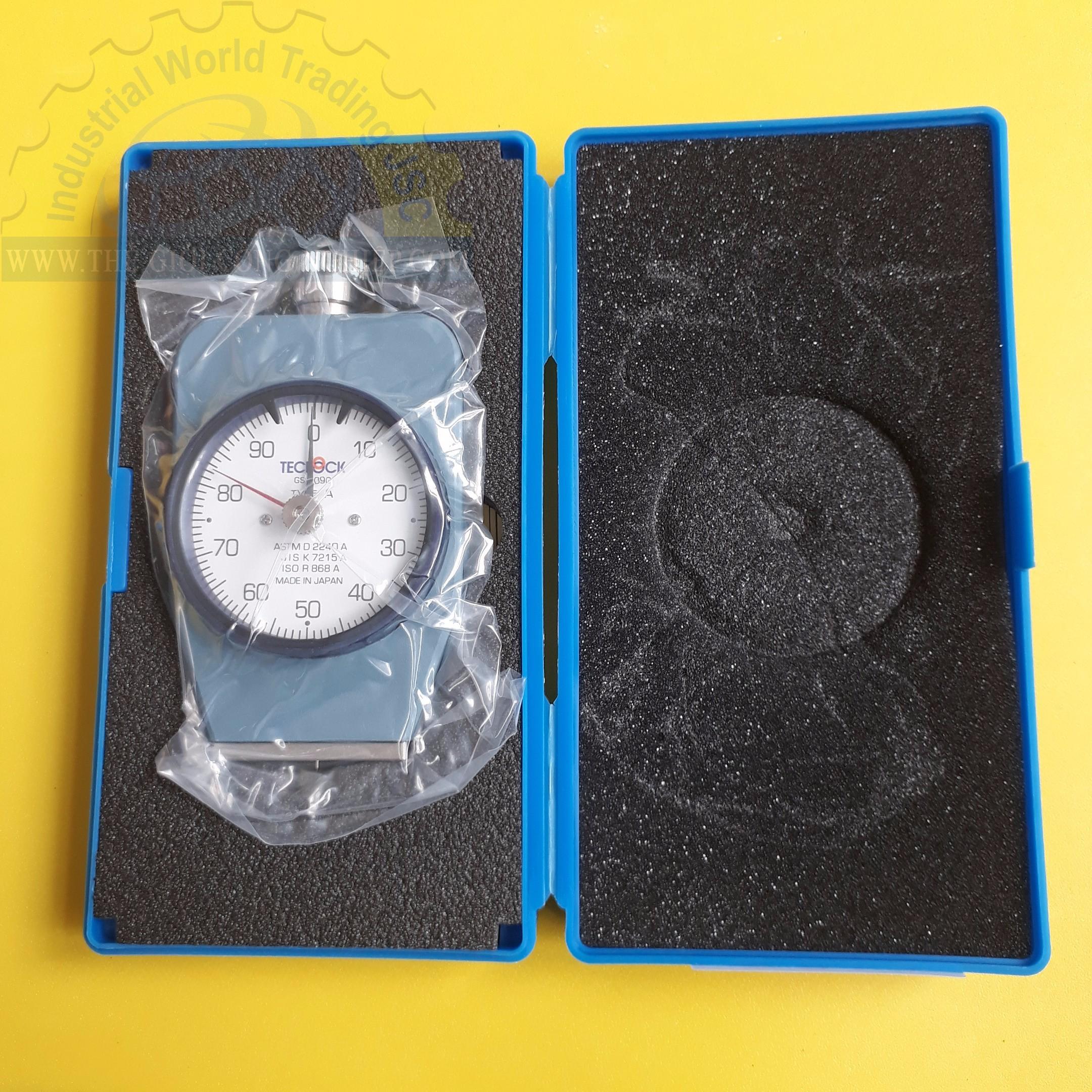 Đồng hồ đo độ cứng cao su loại A  GS-709G Teclock