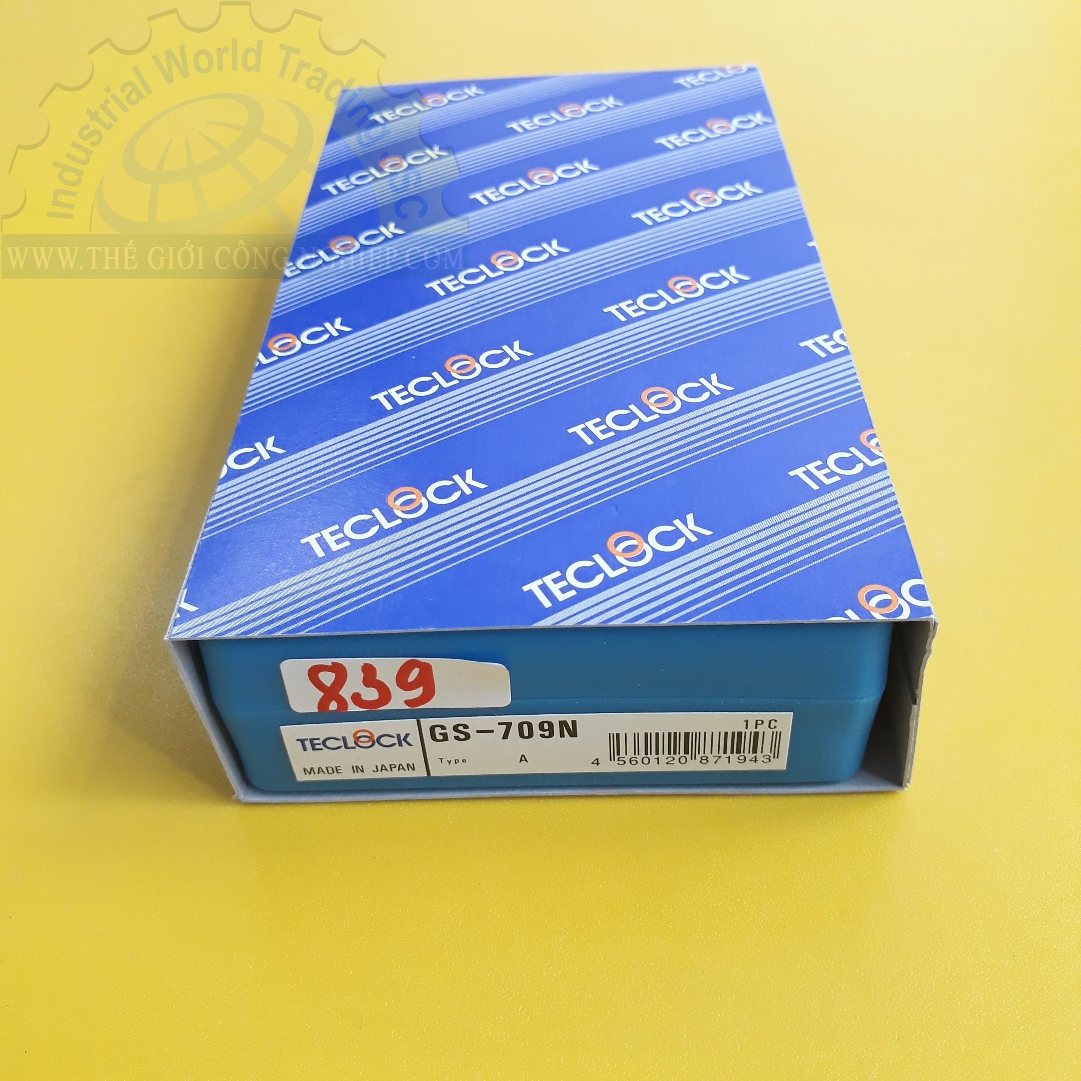 Đồng hồ đo độ cứng cao su Loại A  GS-709N /TYPE A Teclock