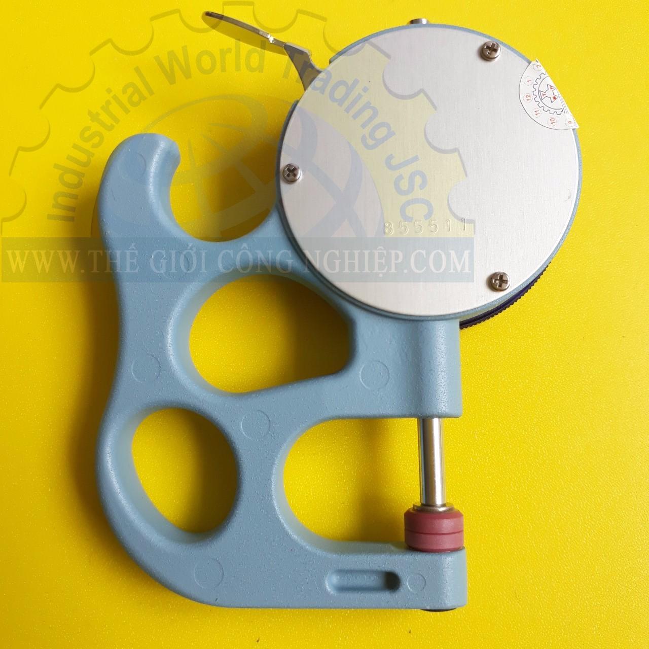Đồng hồ đo độ dày cơ khí có dải đo 0 ~ 10 mm  SM-112 Teclock