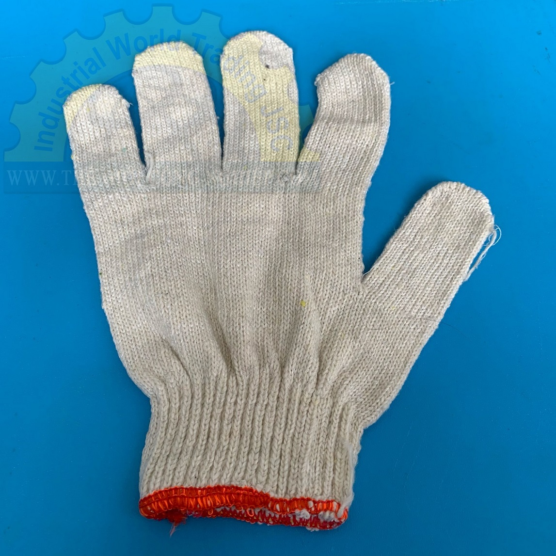 Găng tay len kem K7 50g cổ ngắn  TGCN-29602 OEM-1214