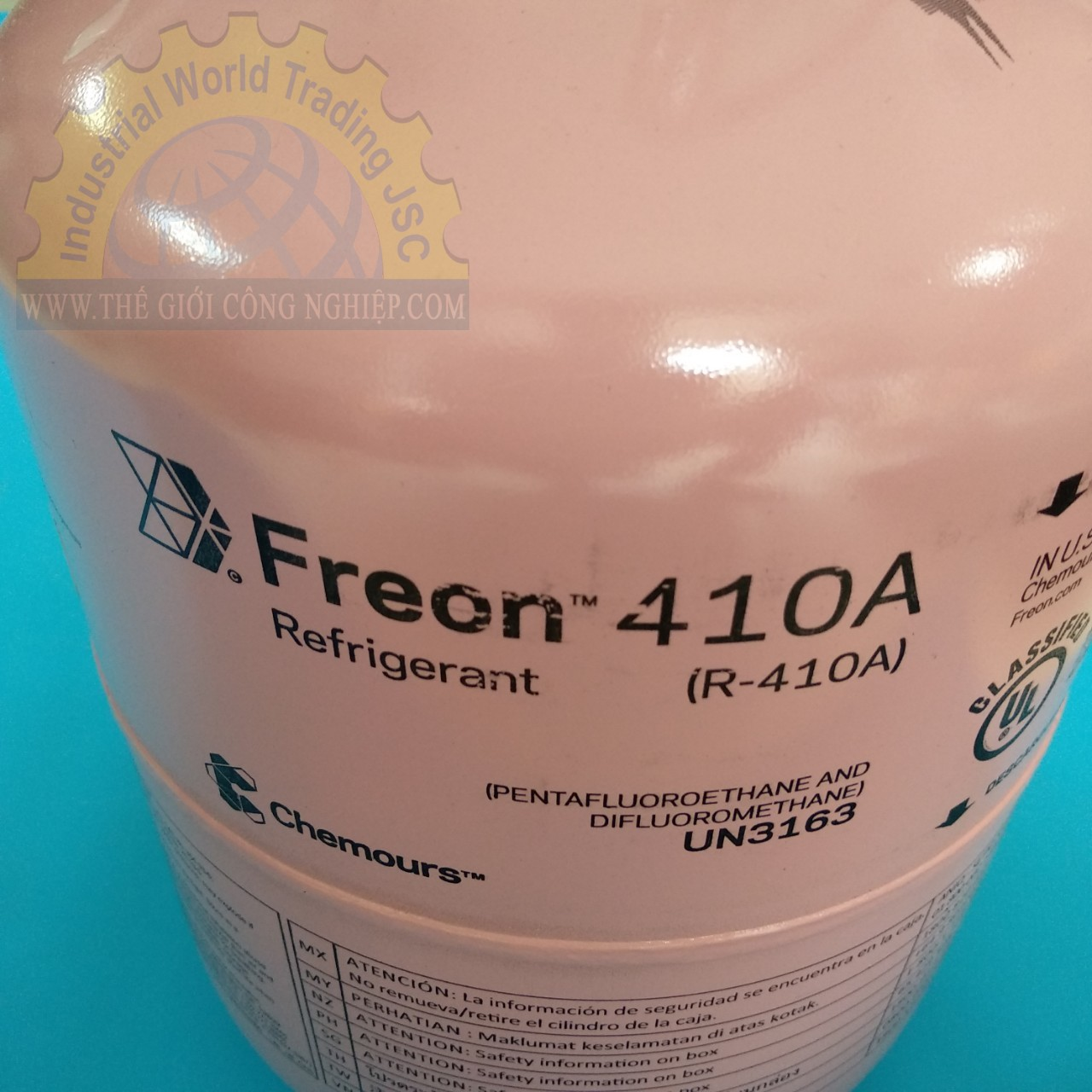 Gas lạnh freon  R410A 13.6kg CHEMOURS