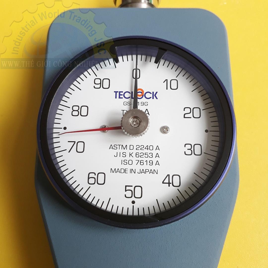 Máy đo độ cứng cao su loại A  GS-719G Teclock