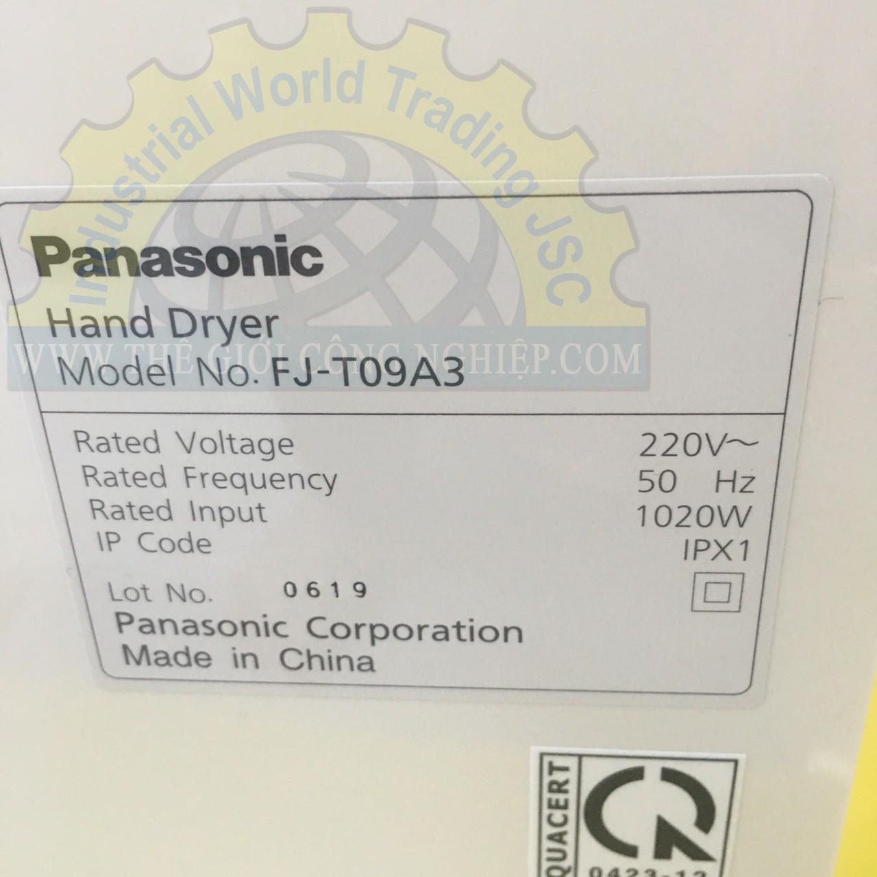 Máy sấy tay (có khay nước)  FJ-T09A3 Panasonic