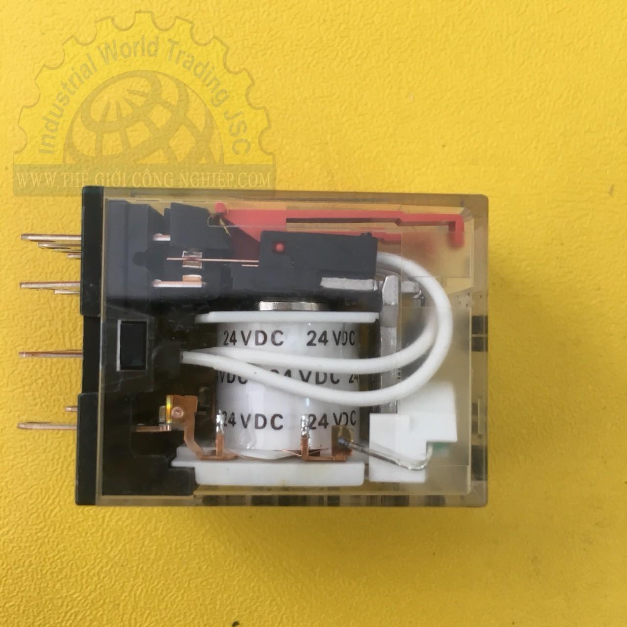 Rơle 14 chân, 24VDC  MY4N-GS DC24 BY OMZ Omron