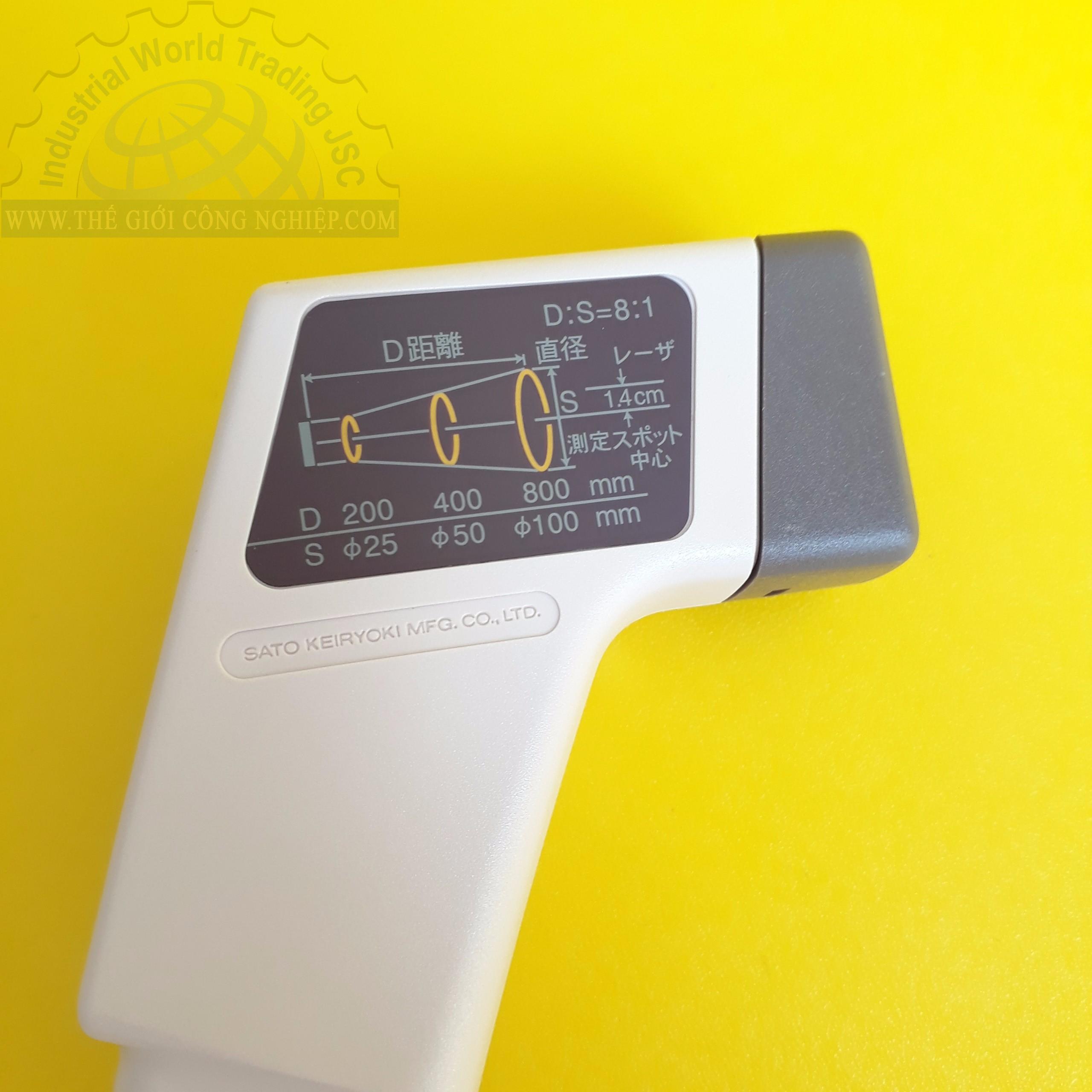 Thiết bị đo nhiệt độ bằng tia hồng ngoại -20°C đến 315°C thermometer -20°C to 315°C SK-8700II SK8700II SATO
