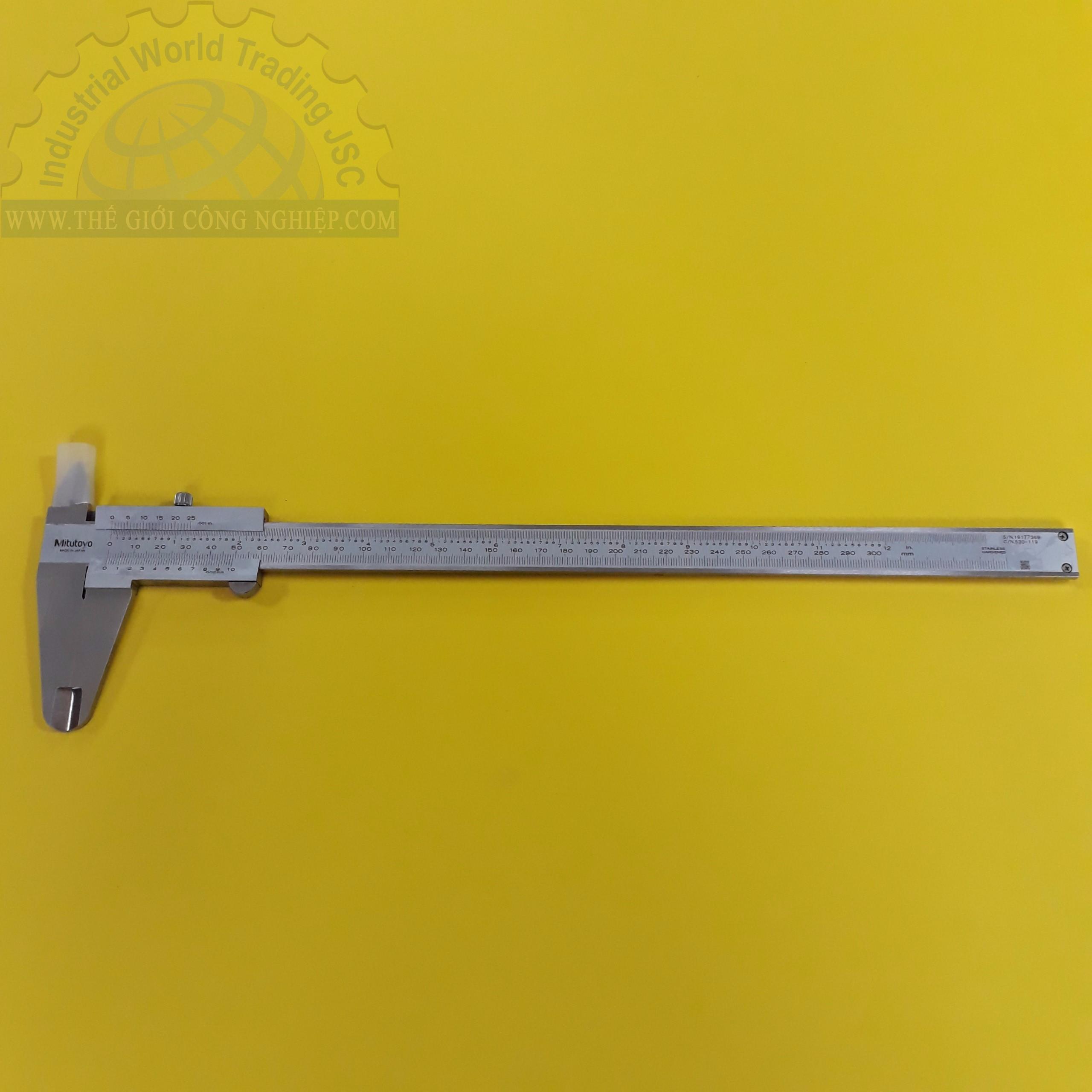 Thước cặp cơ 300mm/0.02mm  530-119 Mitutoyo