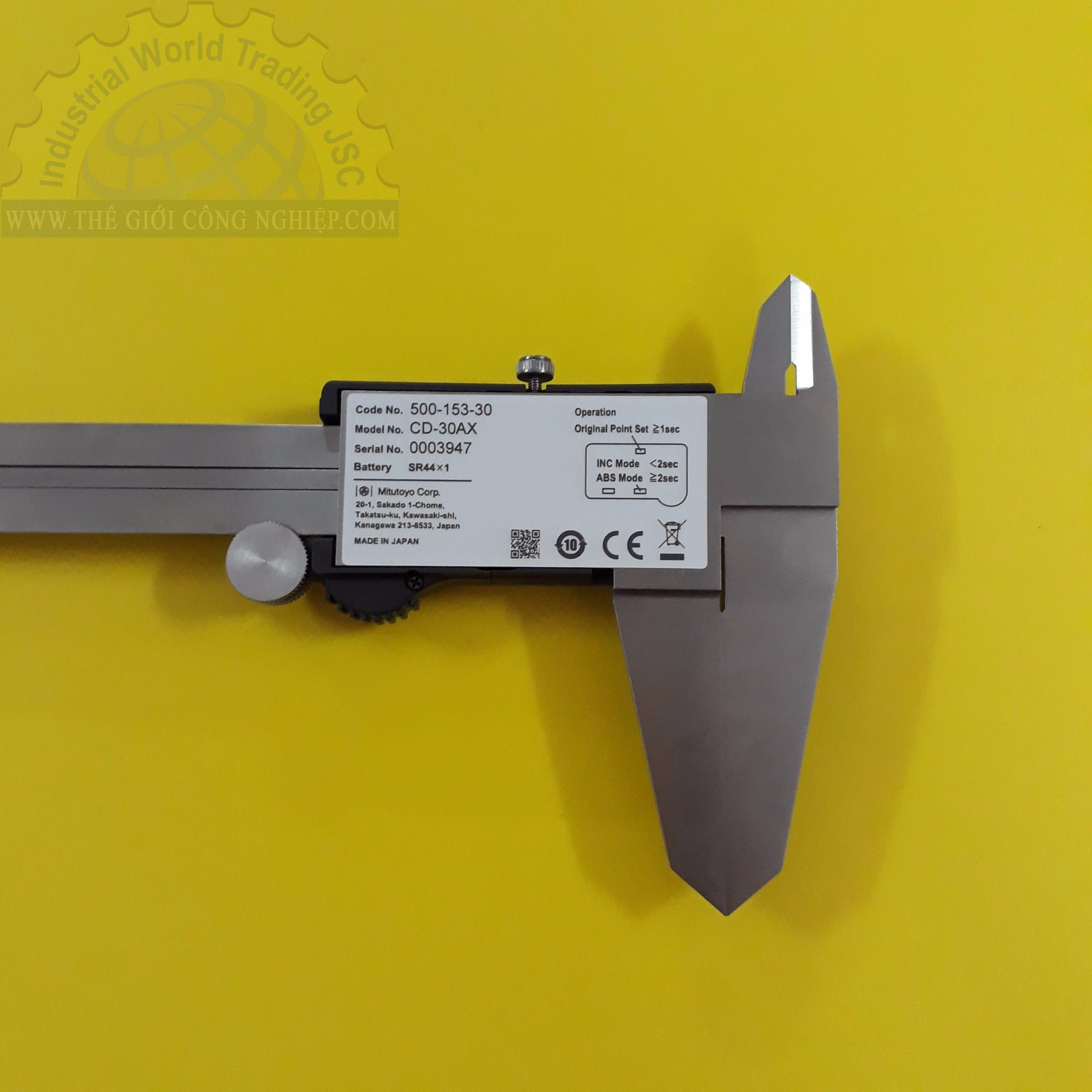 Thước cặp điện tử 300mm/0.01mm  500-153-30 MITUTOYO