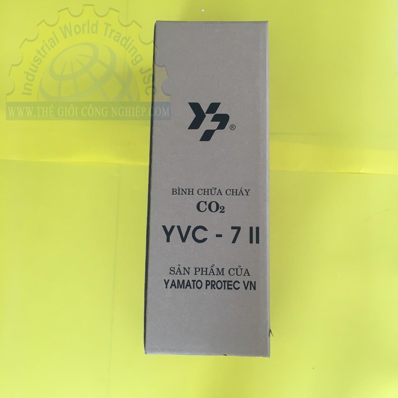 Bình chữa cháy Khí CO2 3.2 kg  YVC-7 Yamato