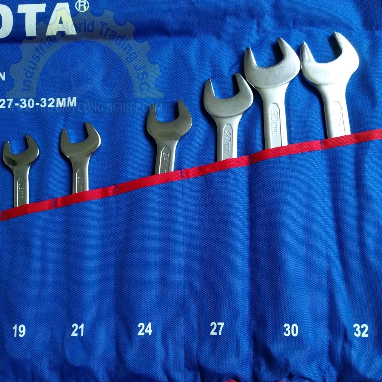 Bộ Cờ Lê Vòng Và Miệng 8-32mm  AWT-ERSK05A Licota