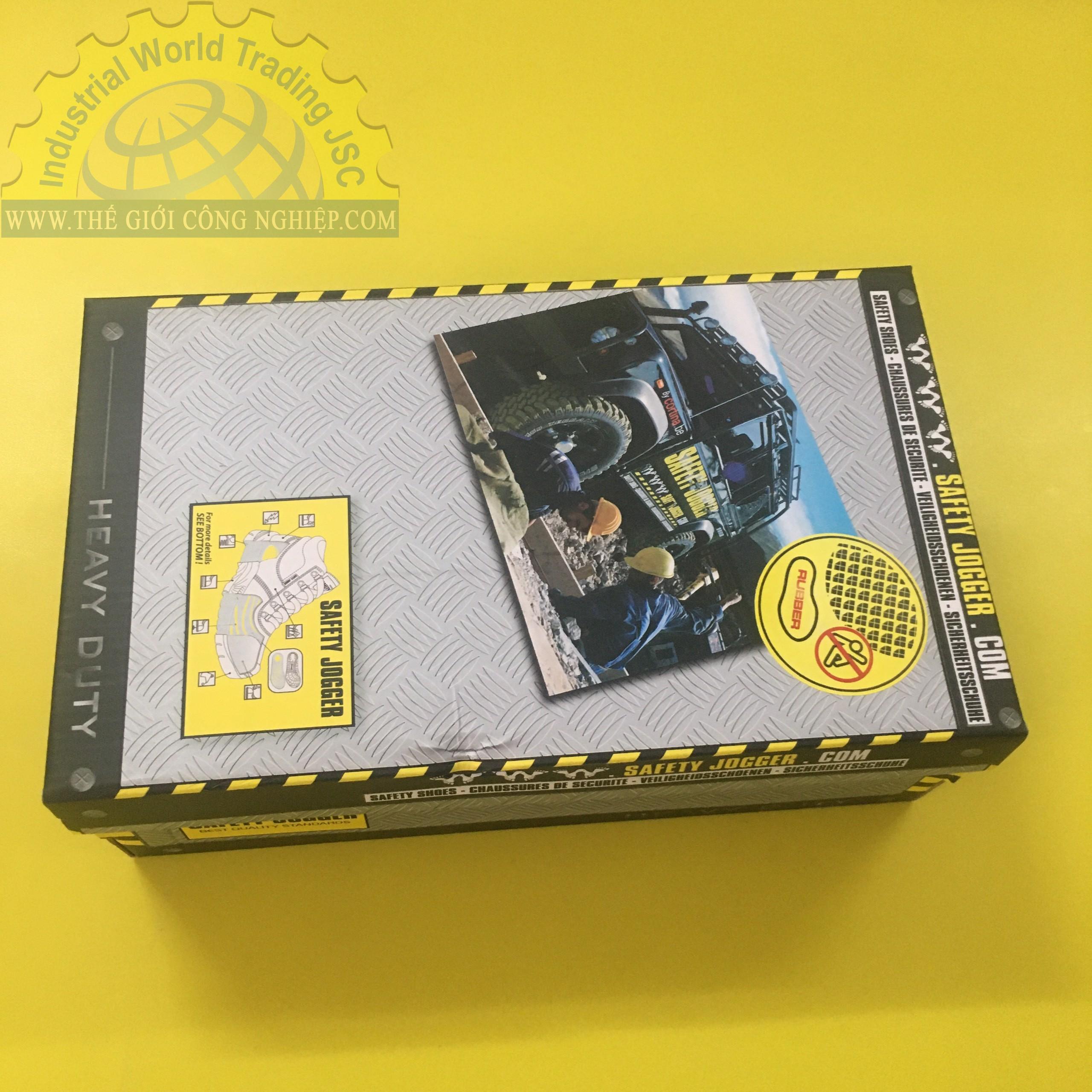 Dép chống trượt màu trắng size 44  WHT-44  Safety Jogger