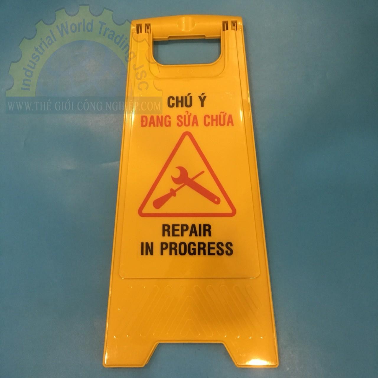 Biển cảnh báo khu vực đang sửa chữa  TGCN-41920 OEM-1856