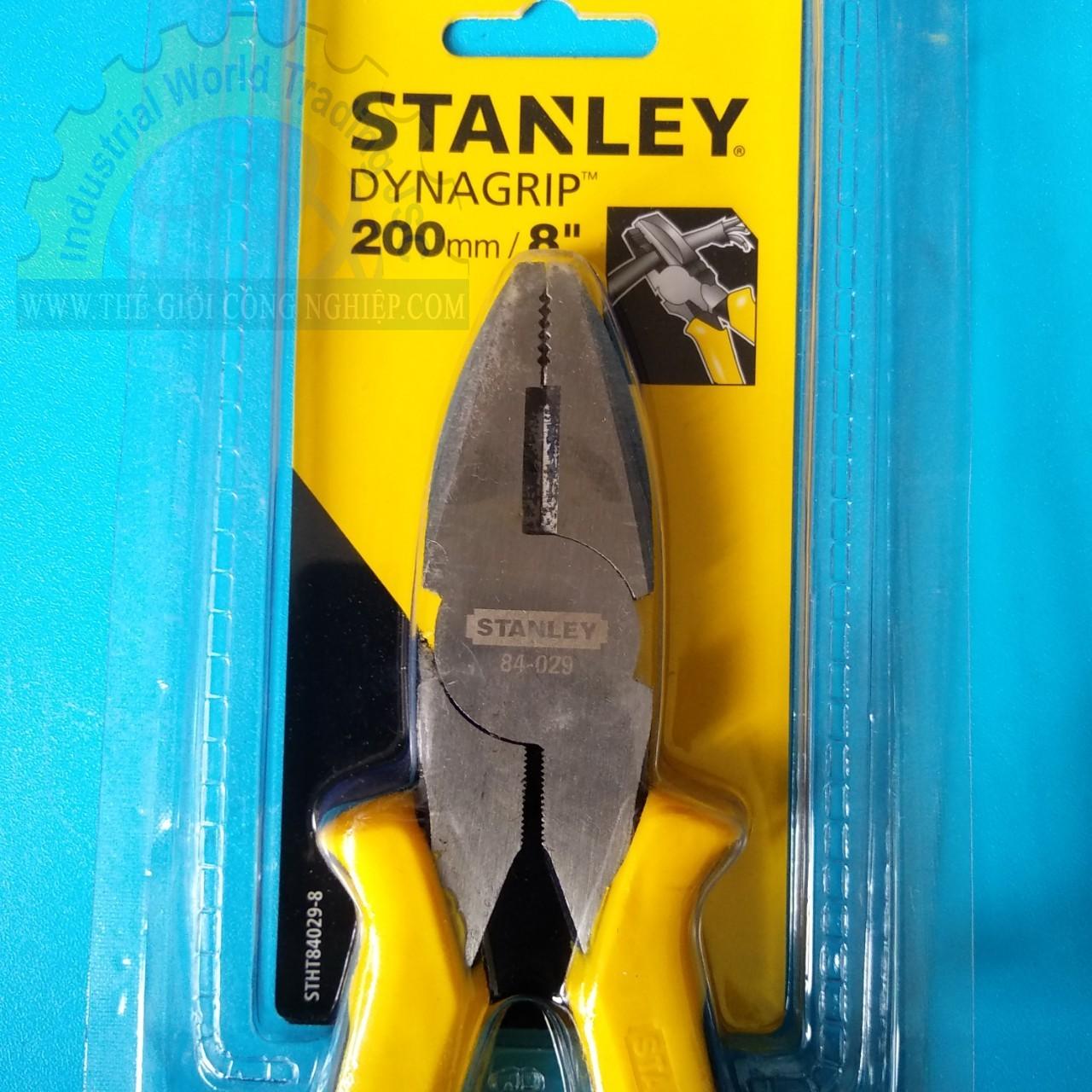 Kìm điện tổ hợp 8 inch  84-029 STANLEY