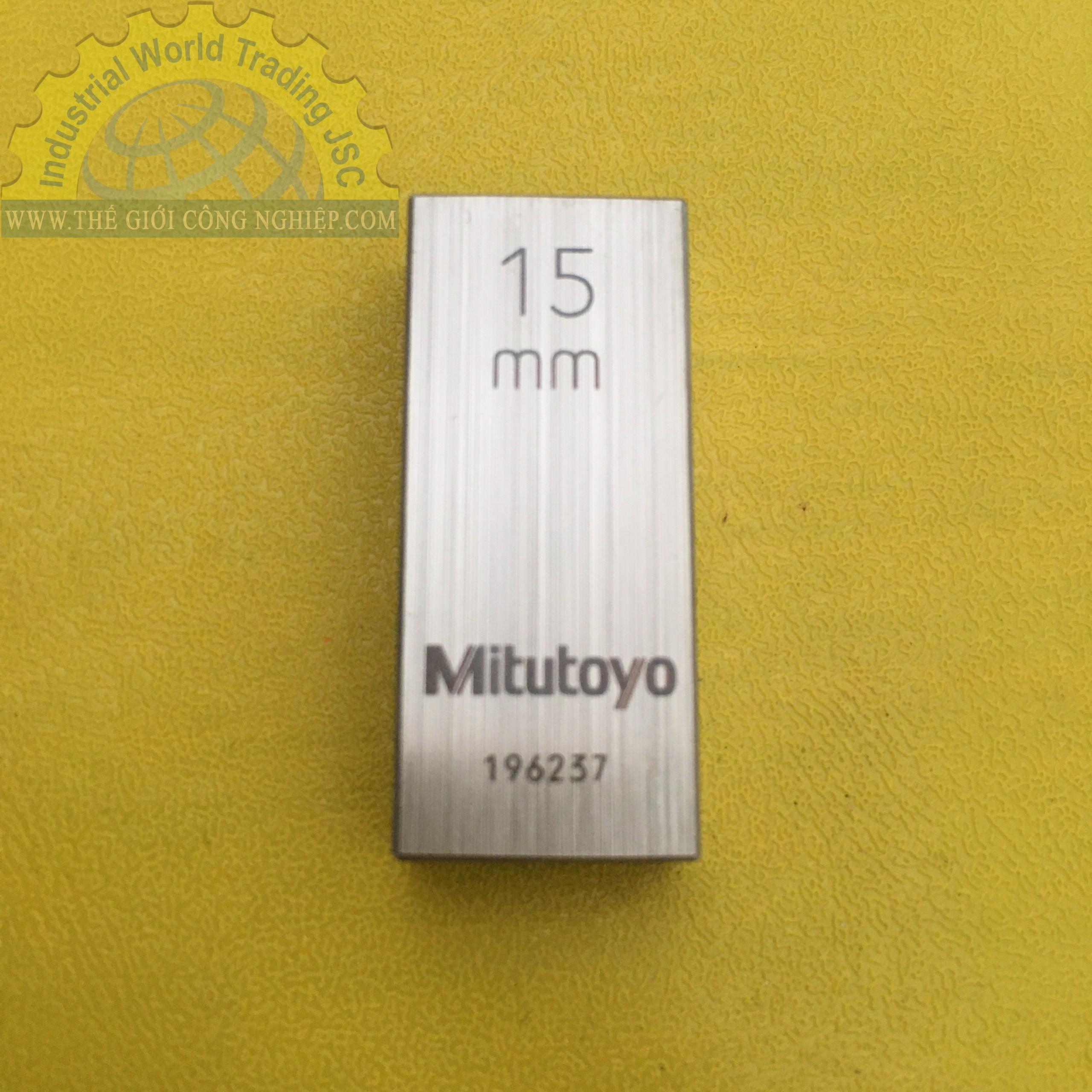 Căn mẫu bằng thép 15mm  611625-021 MITUTOYO