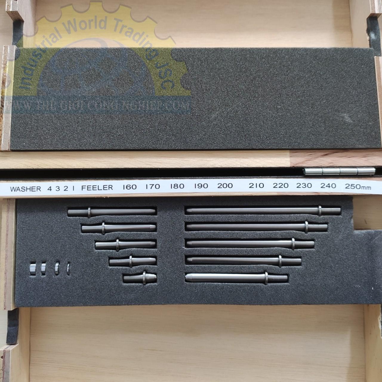 Đồng hồ đo lỗ 160 - 250mm  CC-5 PEACOCK