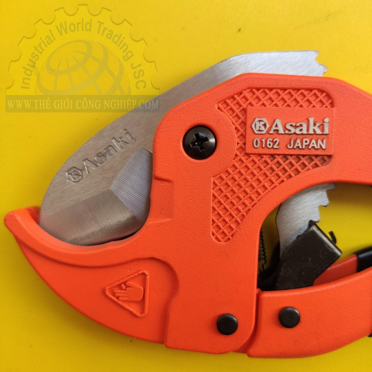 Kéo cắt ống nhựa PVC 42mm  AK-0162 Asaki