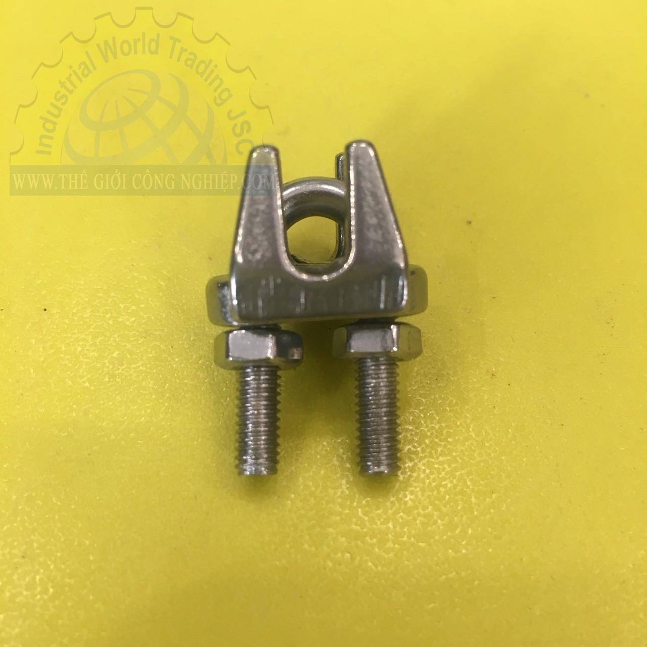 Ốc siết cáp mạ kẽm phi 4  TGCN- 45552 OEM-2328
