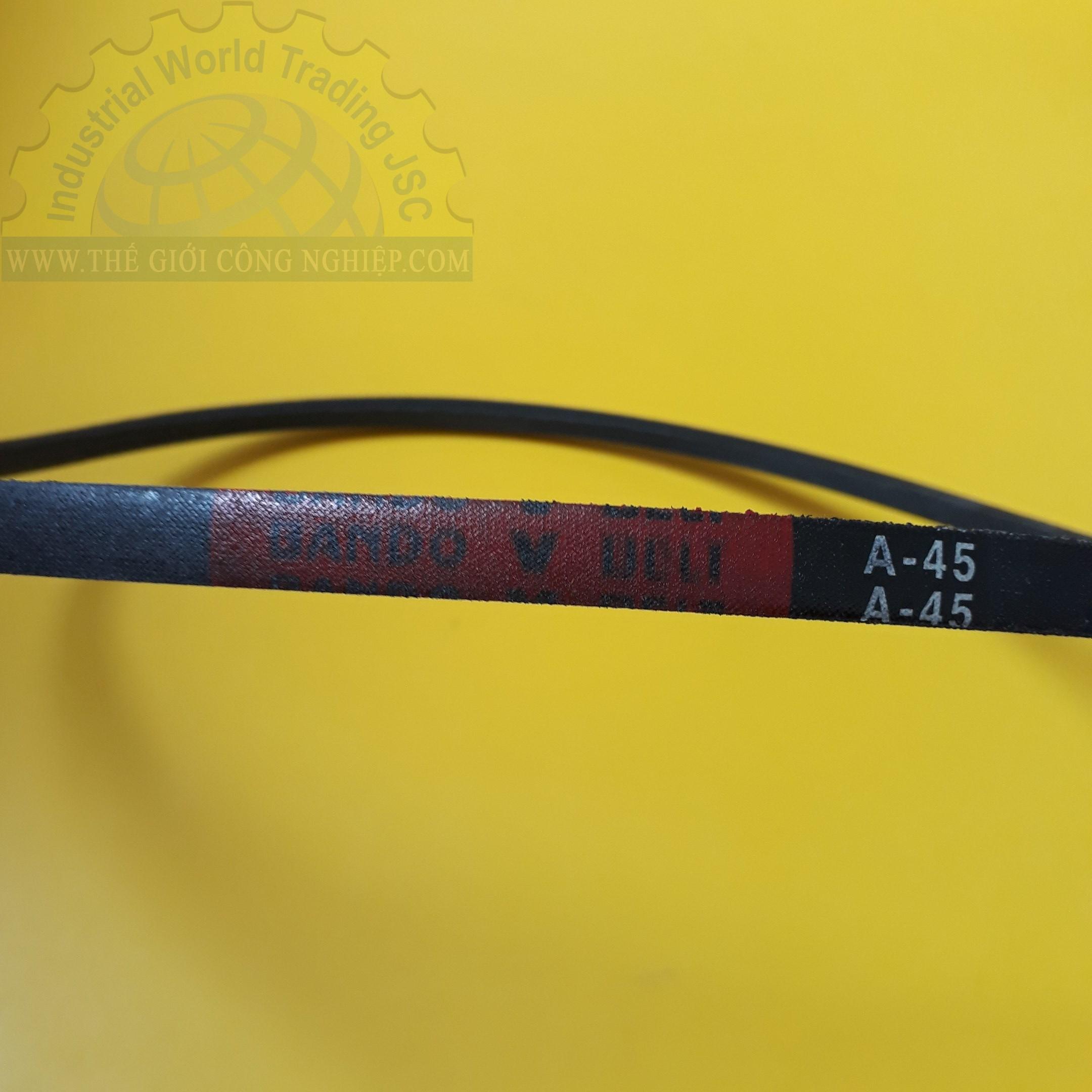 Dây curoa, dây đai 12.7x8mm  A45 Bando