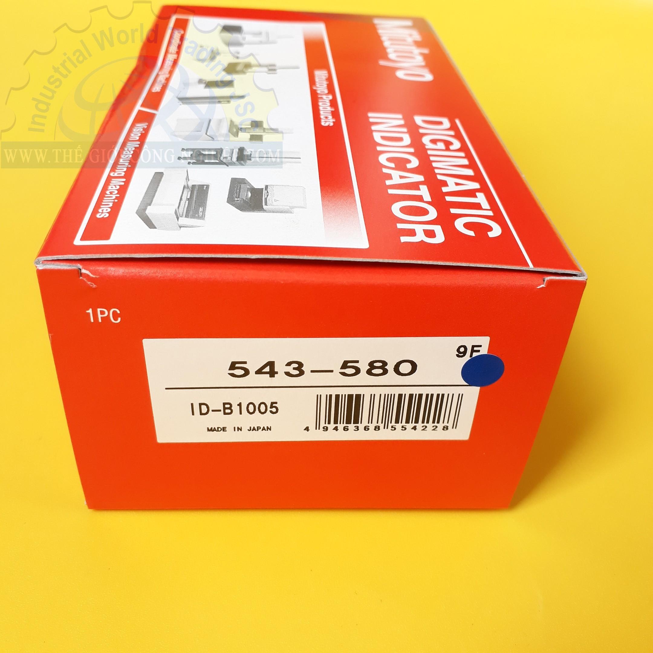 Đồng hồ so điện tử 0-5mm/0.01mm  543-580 ID-B1005 MITUTOYO
