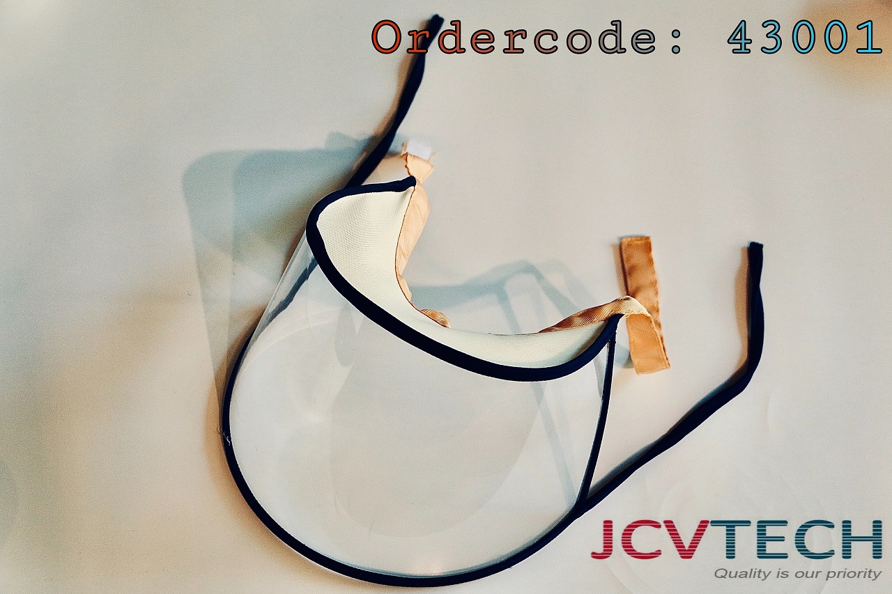 Tấm chắn giọt bắn, phòng Covid-19 loại hai dây  48301 JCVTECH