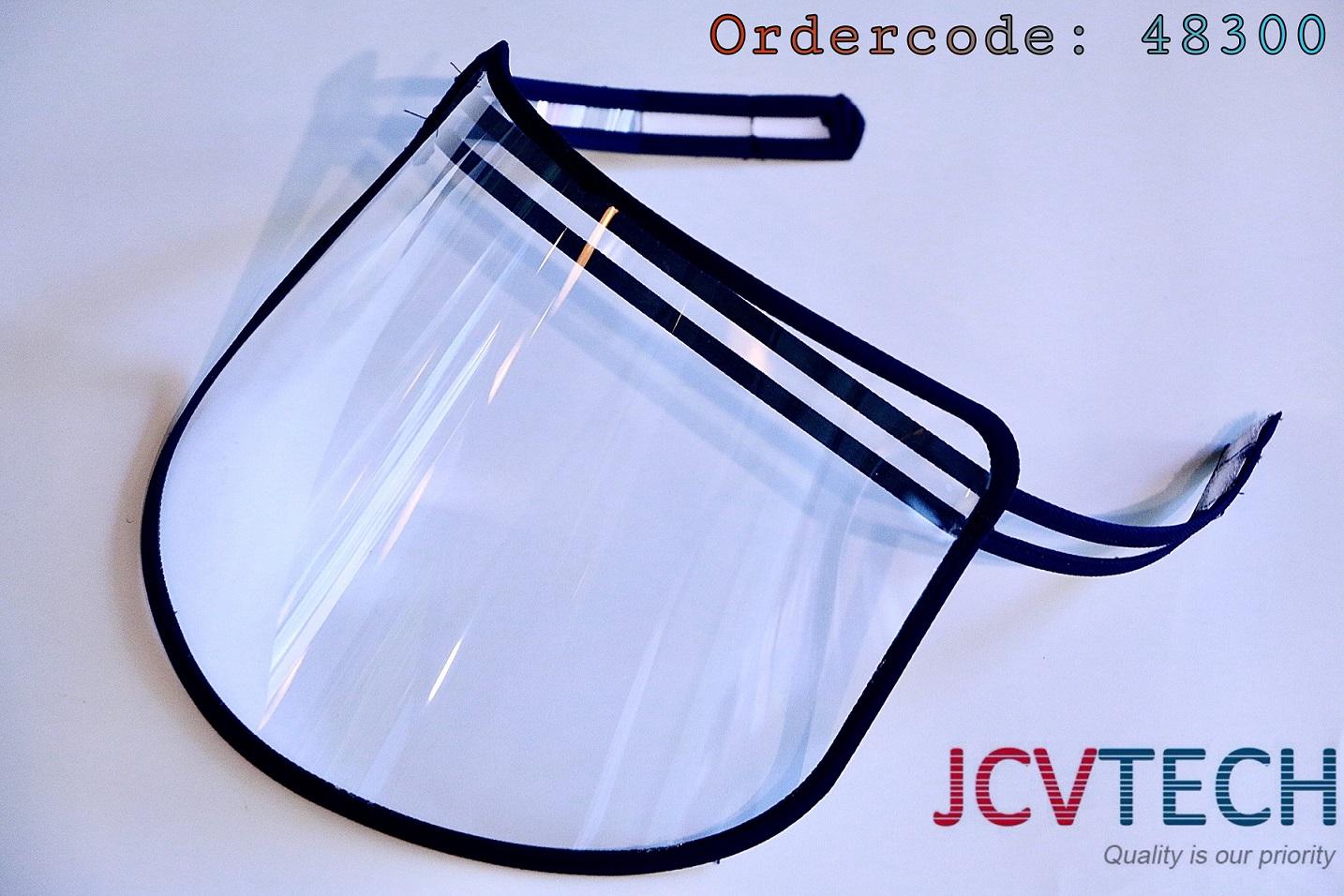 Tấm chắn giọt bắn, phòng Covid-19 loại một dây dán dính  48300 JCVTECH