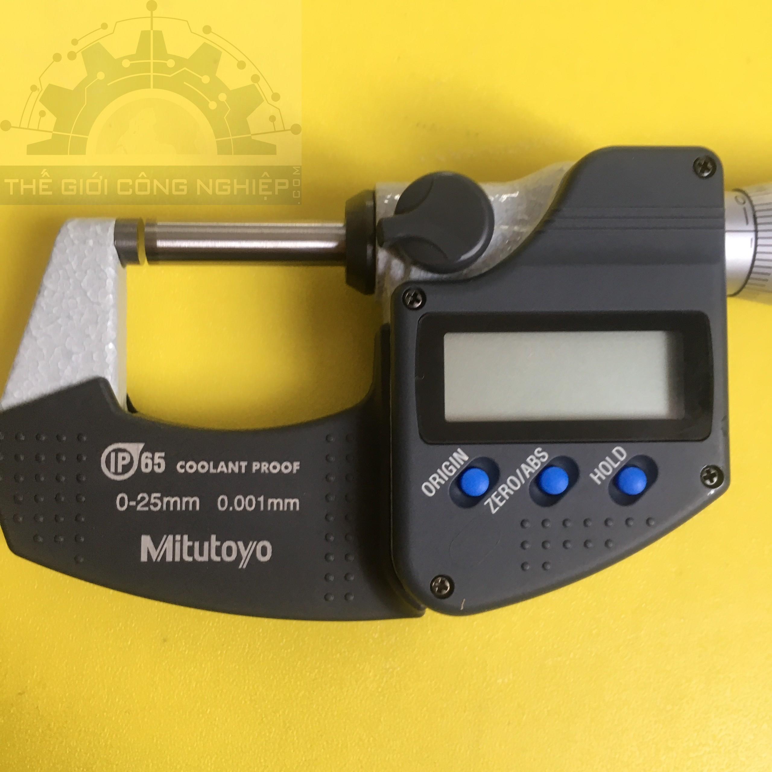 Panme đo ngoài điện tử 25/ 0.001 mm  293-240-30 MDC-25PX MITUTOYO