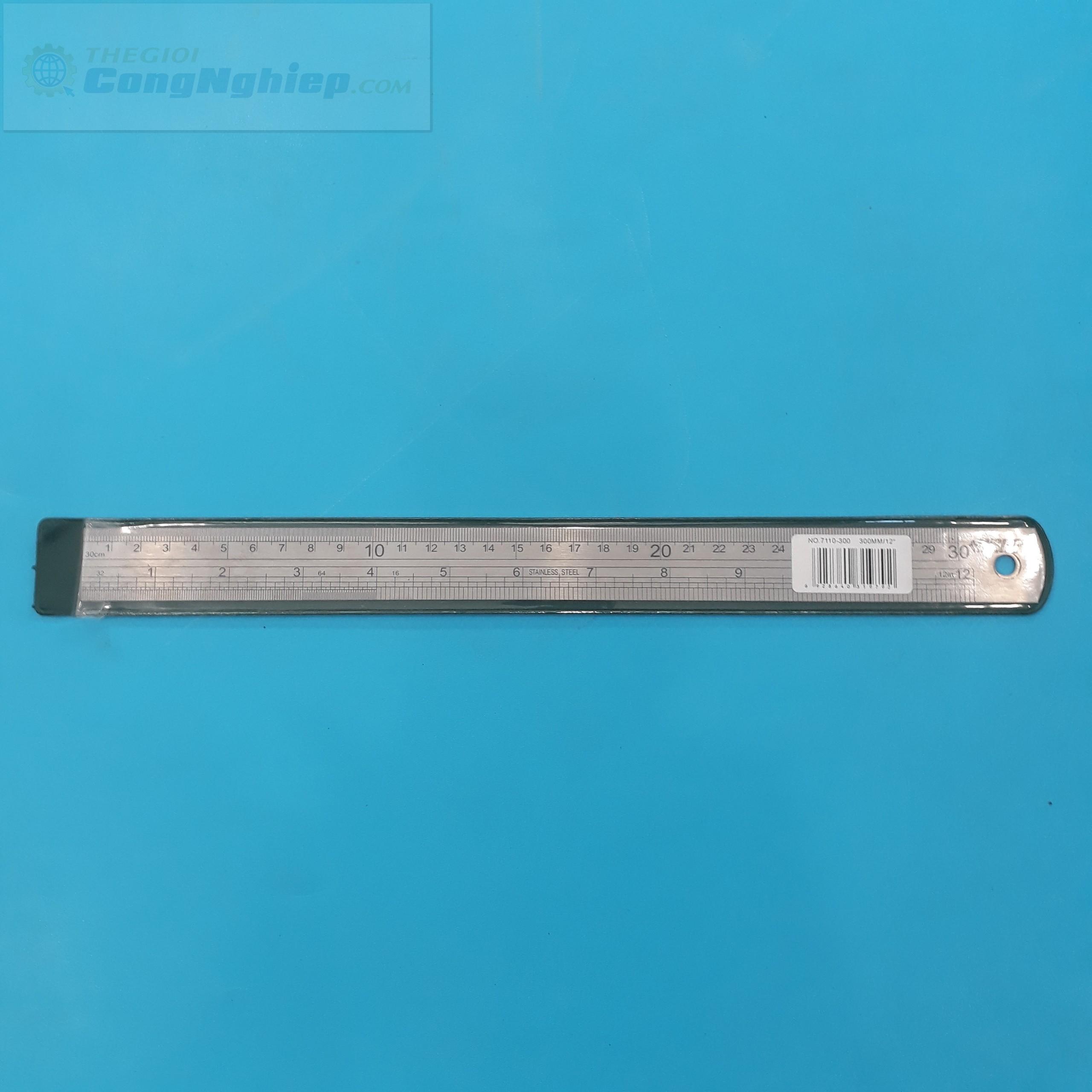 Thước lá thẳng 300mm  7110-300 Insize