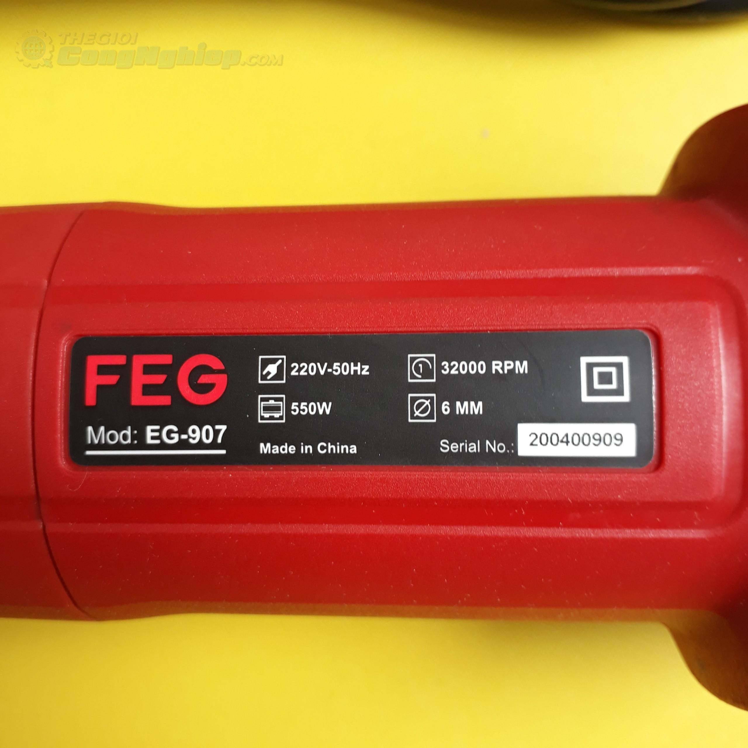 Máy mài khuôn 6mm 550W  EG-907 FEG