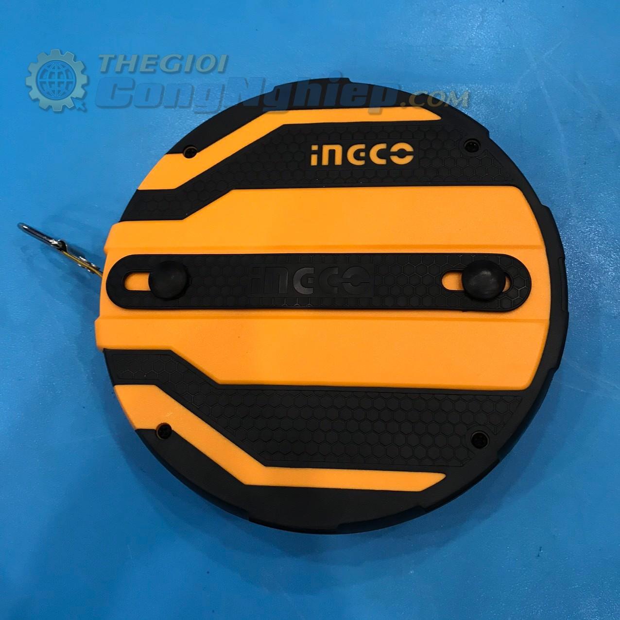 Thước dây sợi thủy tinh 20mx12.5mm   HFMT8120 INGCO