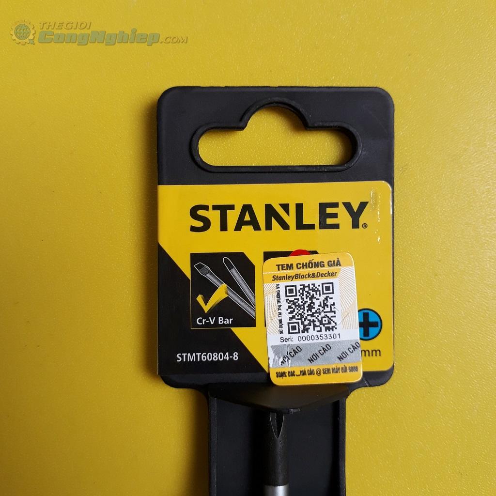 Tuốc nơ vít bake #1x75mm   STMT60804-8 STANLEY