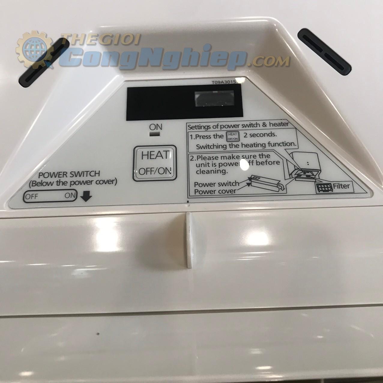 Máy sấy tay công suất 1.020W không có khay đựng nước   FJ‑T09B3 Panasonic