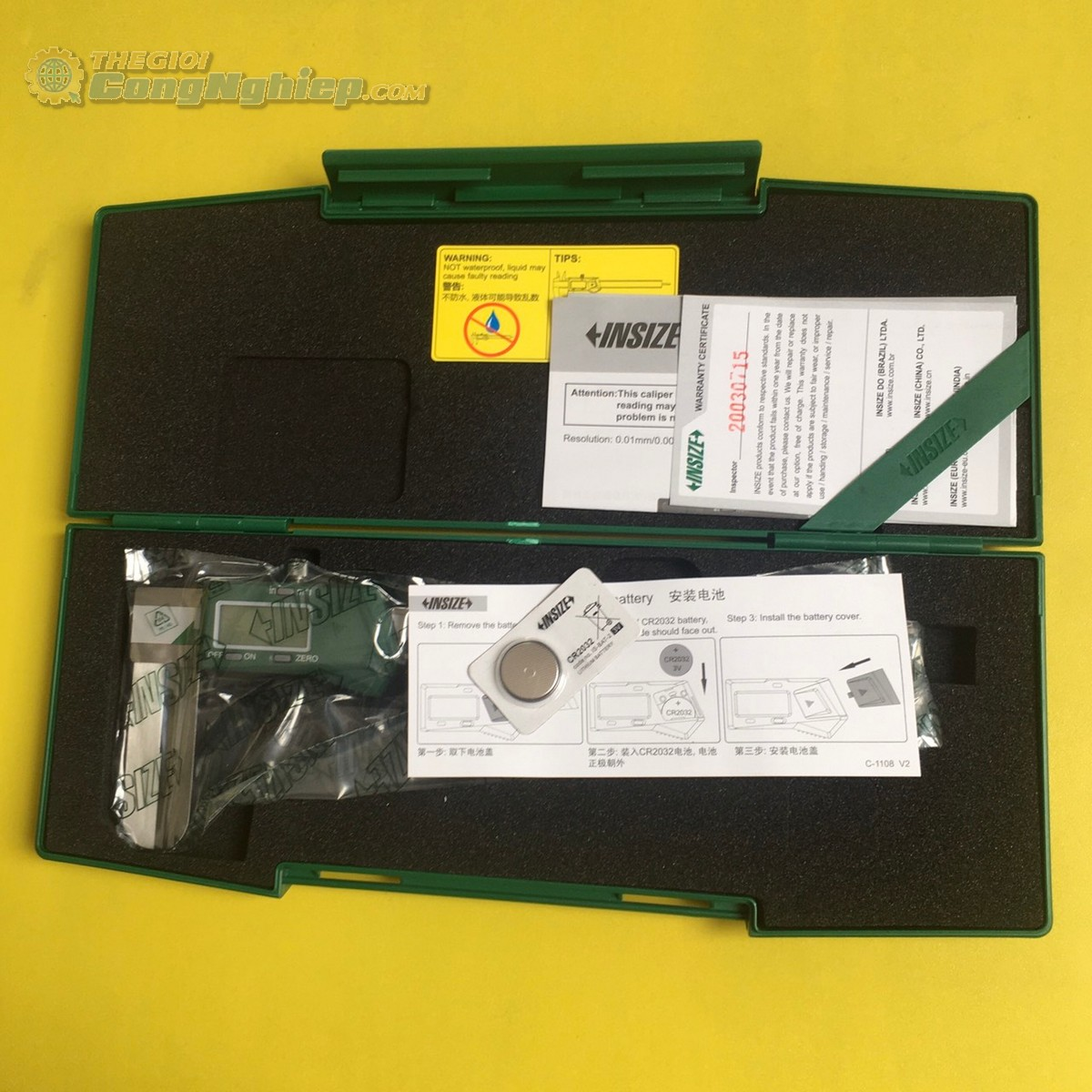 Thước cặp điện tử 150mm  1123-150A Insize