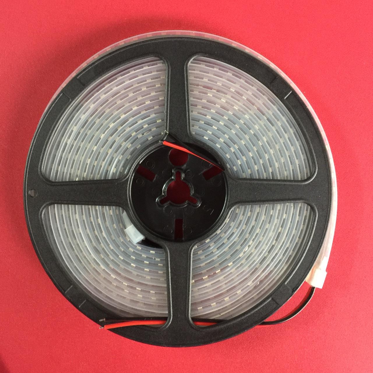Led dây smd2835, điện thế dc12v, công suất 9.6w, nhiệt độ màu 3000k ( ánh sáng vàng ) , chip led 120led/m, cấp bảo vệ ip20, bản rộng 8mm  TGCN-49507 JCVTECH