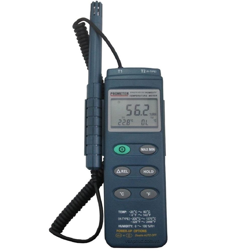 Sửa chữa lỗi không đọc được nhiệt độ cho nhiệt ẩm kế điện tử EPA-2TH Prometer