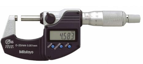 Sửa chữa lỗi không lên nguồn và gãy chân nguồn cho panme đo ngoài điện tử 293-240-30 Mitutoyo