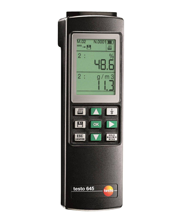 Sửa chữa lỗi không lên nguồn cho thiết bị đo độ nhiệt độ và độ ẩm TESTO 645 Testo