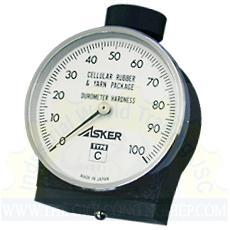 Hiệu chuẩn đồng hồ đo độ cứng cao su Type C Asker