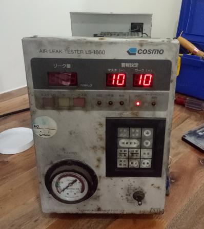 Sửa chữa lỗi không lên nguồn cho máy kiểm tra rò rỉ khí LS-1860 Cosmo