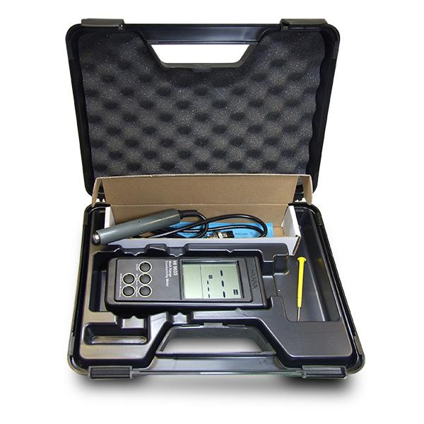 Hiệu chuẩn máy đo độ dẫn điện HI9033 Hanna