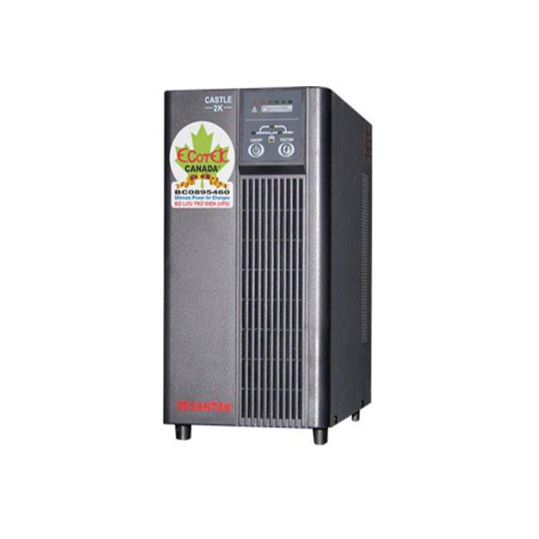 Lắp đặt Bình lưu điện Online  Model: C2KE Santak